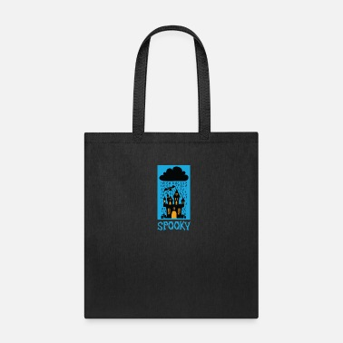All Saints Day Spooky Halloween Trick or Treat Castel Party Gift - Tote Bag
