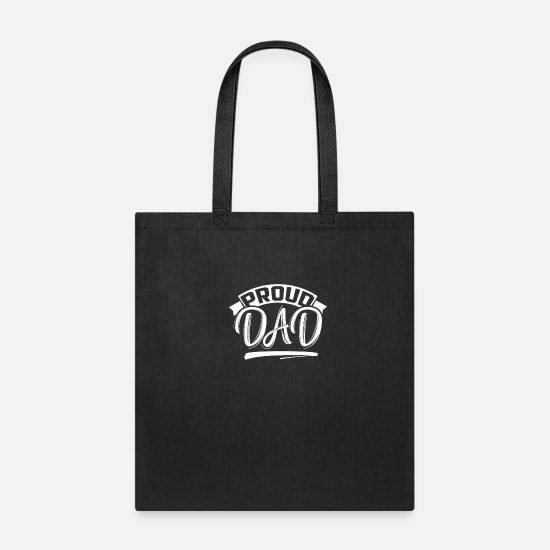 Father's Day Bags & Backpacks - Favourite Father Father's Day Best Dad Papa Daddy - Tote Bag black