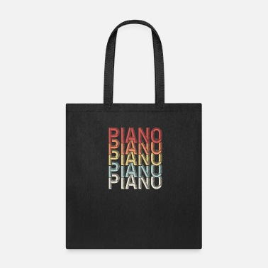 Piano Piano Piano - Tote Bag