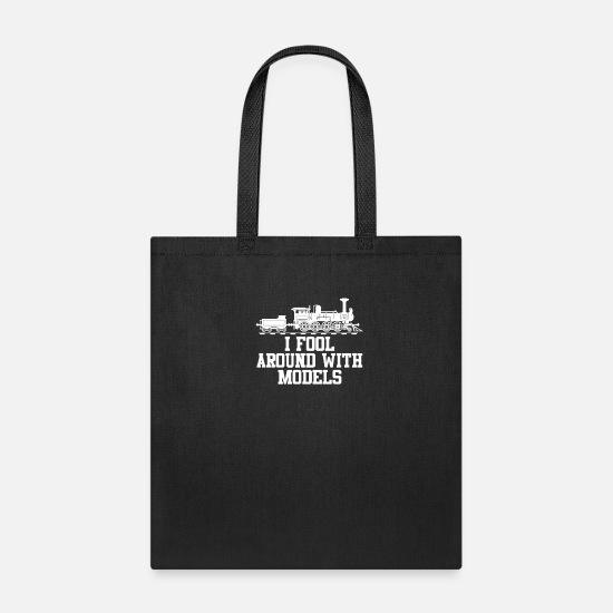 Railway Bags & Backpacks - Model Railway - Tote Bag black