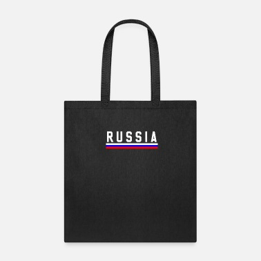 Russia Russian Russia Flag Map - Tote Bag