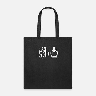 Middle Finger 54 Years Old 54th Birthday - Tote Bag