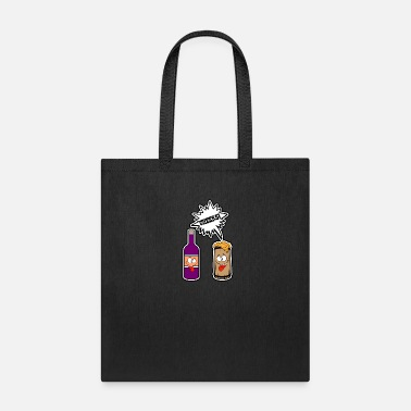 Cheers Beer Wine - Cheers Beer Wine - Tote Bag