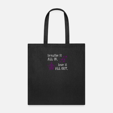 Buddhist Breathe It In Love It Out Yogi Chakra Soul - Tote Bag