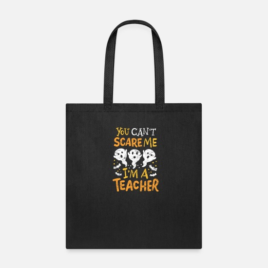 Teacher Bags & Backpacks - Teacher Halloween Costume - Tote Bag black