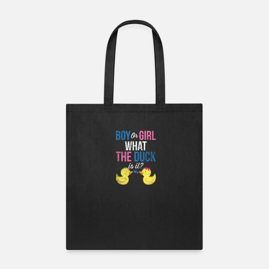 Gender Bags & Backpacks - Duck Gender - Tote Bag black