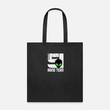 Area Alien Storm run raid supplies - Tote Bag
