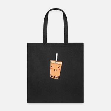Milk Bubble Tea Boba Drink Milk Drinking Cute Ball Gift - Tote Bag