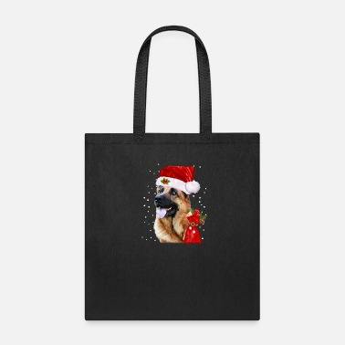 German Shepherd Christmas Shirt Funny Xmas Gift - Tote Bag