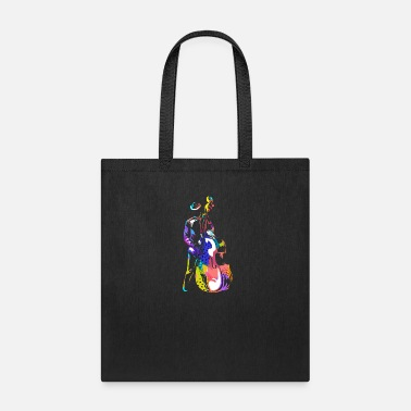 Bass Guitar Double Bass Violin - Tote Bag