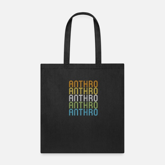 Anthropology Bags & Backpacks - Anthro Retro Repeating - Anthropology - Tote Bag black