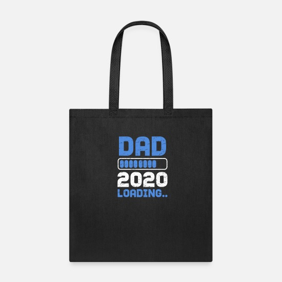 2020 Bags & Backpacks - Dad 2020 Pregnancy Announcement - Tote Bag black