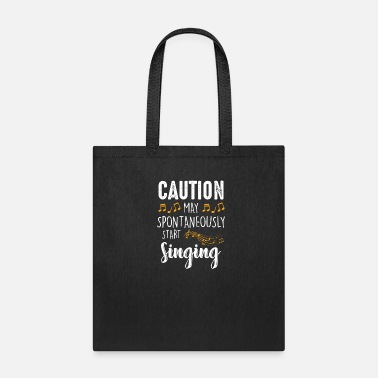 Start May Start Singing - Musician Choir Singer Music Ba - Tote Bag