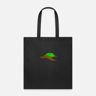 Climate Change Turtle Zoo Gift Idea - Tote Bag