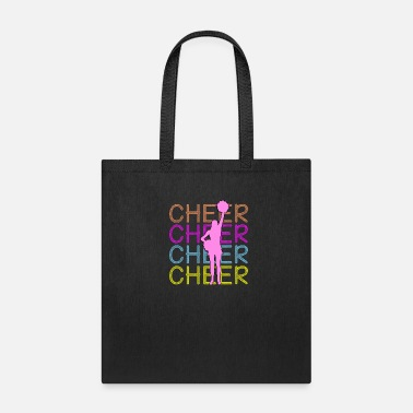 Cheerleading - Cheer Cheer Cheer - Tote Bag
