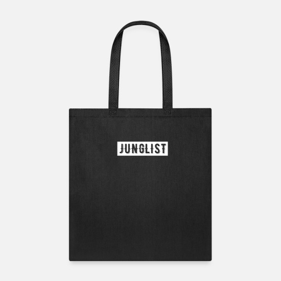 Drum Bags & Backpacks - Drum And Bass Junglist - Tote Bag black