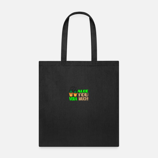 Birthday Bags & Backpacks - ALOE You very much - Love couple cute - Tote Bag black