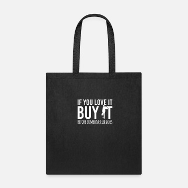 Cosmetics shopping Shopping clothes Bra Quote funny awesome - Tote Bag