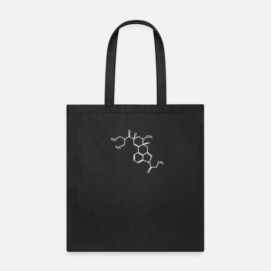 Women Bags & Backpacks - drugs Drugs pills Techno part Quote funny awesome - Tote Bag black