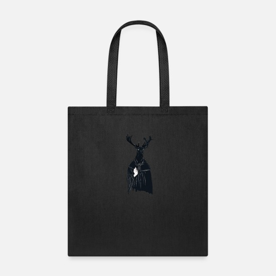Stag Bags & Backpacks - Creatures from the forest - Tote Bag black