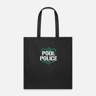 Pool Police Bademeister Swimming Life Guard Beach - Tote Bag
