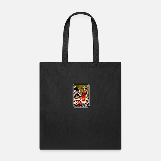 Explicit Bags & Backpacks - Painful alien's birth - Tote Bag black