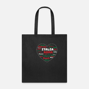 Spaghetti ITALY HEART ITALIA CUORE CLOUD HOLIDAY (ORIGINAL) - Tote Bag