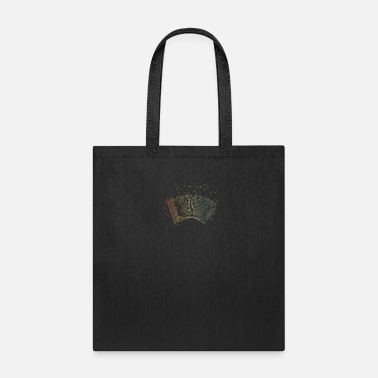 Musician Retro Colors Air Accordion Musician Gift Idea - Tote Bag