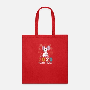 2020 Year of The Rat - Tote Bag