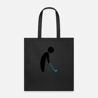 Teeing Off A Golfer About To Tee Off - Tote Bag