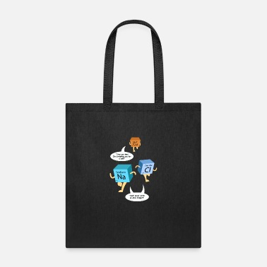 Pun Funny Chemistry Periodic Table Pun - Tote Bag