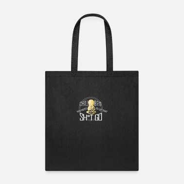 Taoism Relaxing Chill Bro Buddhism Taoism Religious Gift - Tote Bag