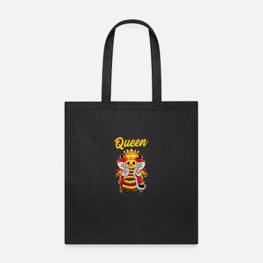 Guardian Queen Bee in a Throne - Tote Bag