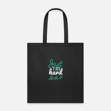 Swimming Instructor Just TRI hard - Tote Bag