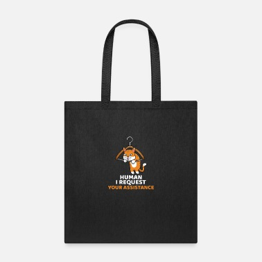 Request Funny Cat Kitty Kitten For Cat Lovers - Tote Bag