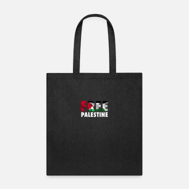 Occupation Free Palestine - The Palestinian Flag Graphic - Tote Bag