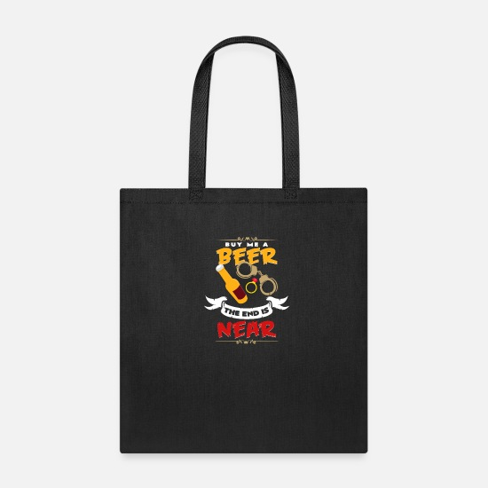 Funny Bags & Backpacks - Bachelor Party Party Gift Groom Marriage - Tote Bag black
