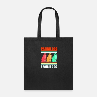 Color Prairie Dog Groundhog Squirrel Xerini Rodent - Tote Bag