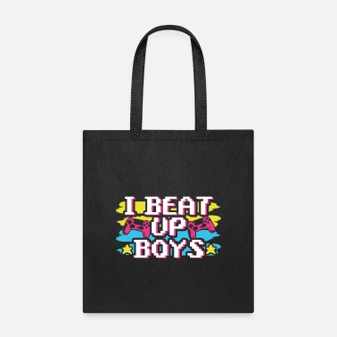 Computer I Beat Up Boys Gaming - Tote Bag