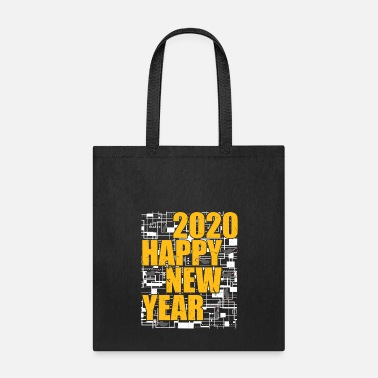 Calendar Year Of The Rat Happy New Year 2020 January 1st - Tote Bag