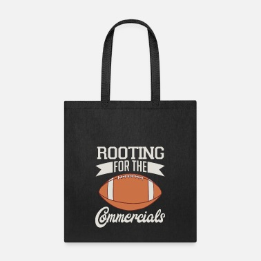 Game Center Booting For The Commercials Biggest Fan Football - Tote Bag
