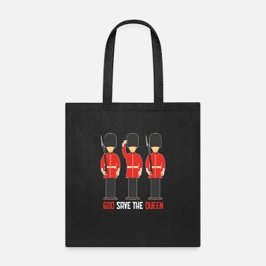 London god save the queen - Tote Bag