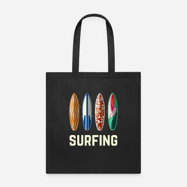 Surf surfing surfer surfing - Tote Bag