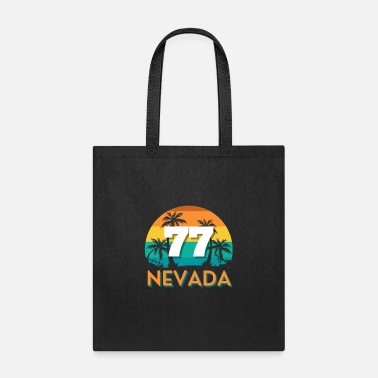 77 Nevada On The Beach Vintage T-Shirt - Tote Bag
