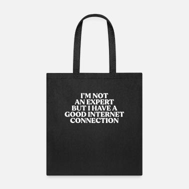 Birthday Expert with Internet - Tote Bag