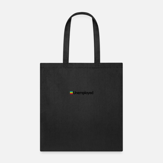 Gift Idea Bags & Backpacks - Polaroid - Unemployed - Tote Bag black