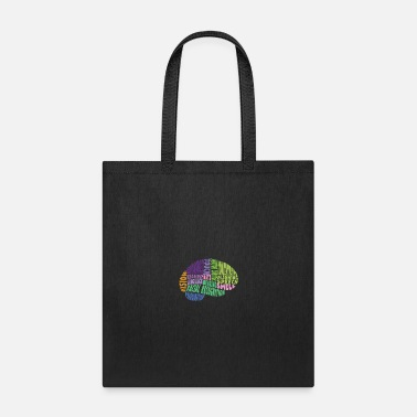 Region Regions of the brain - Tote Bag