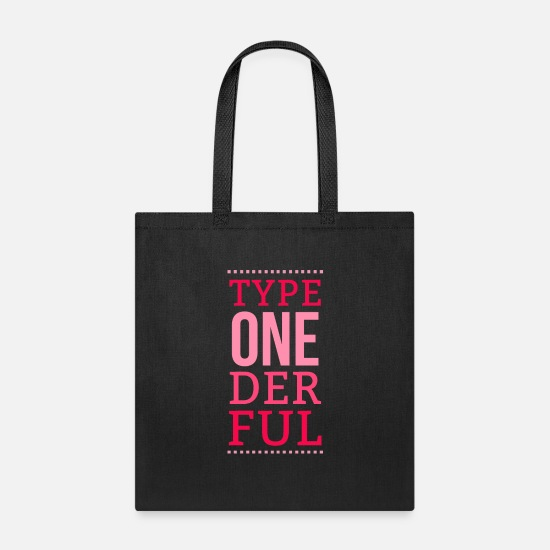 Funny Bags & Backpacks - Diabetes Insulin Saying Funny Quote Gift Idea - Tote Bag black