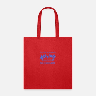 Tempest Spring weather - Tote Bag