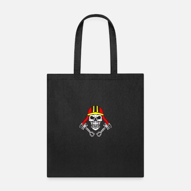 Road Transport Motorcycle Skull Racing Ride Road Bike Car Gift - Tote Bag